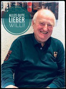 Alles Gute zum Geburtstag Willi